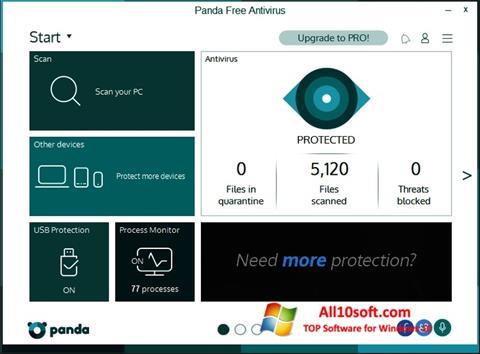 Képernyőkép Panda Windows 10