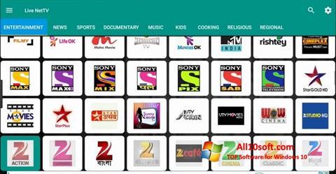 Képernyőkép Net TV Windows 10