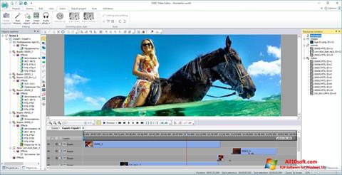 Képernyőkép VSDC Free Video Editor Windows 10