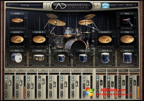 Képernyőkép Addictive Drums Windows 10