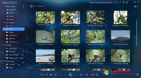 Képernyőkép PowerDVD Windows 10
