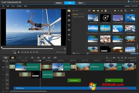 Képernyőkép Corel VideoStudio Windows 10