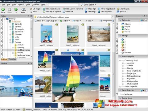 Képernyőkép ACDSee Photo Manager Windows 10