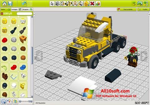 Képernyőkép LEGO Digital Designer Windows 10