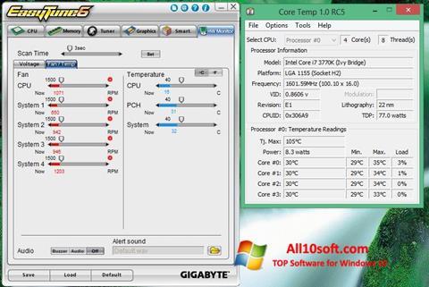 Képernyőkép EasyTune Windows 10