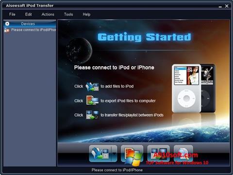 Képernyőkép iPhone PC Suite Windows 10