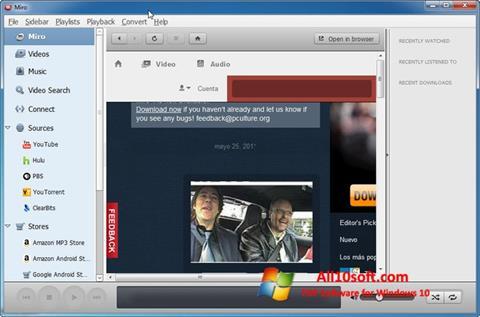 Képernyőkép Miro Windows 10