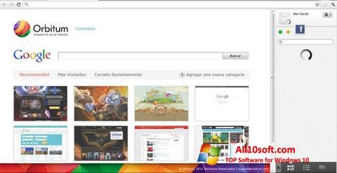 Képernyőkép Orbitum Windows 10