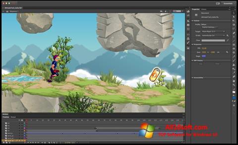 Képernyőkép Adobe Flash Professional Windows 10