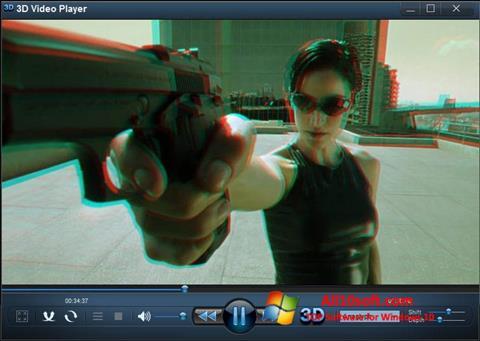 Képernyőkép 3D Video Player Windows 10