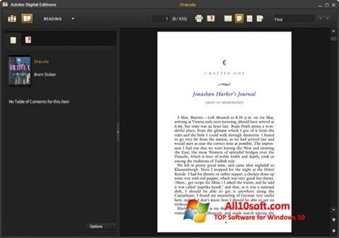 Képernyőkép Adobe Digital Editions Windows 10