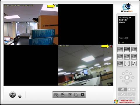 Képernyőkép D-ViewCam Windows 10