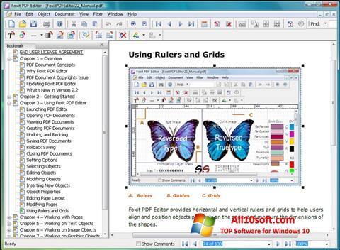 Képernyőkép Foxit PDF Editor Windows 10