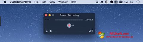 Képernyőkép QuickTime Windows 10