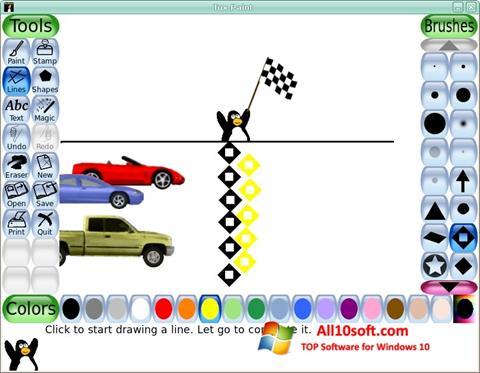 Képernyőkép Tux Paint Windows 10