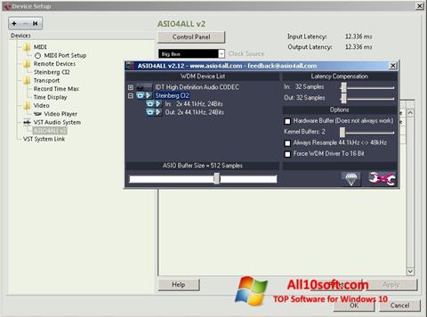 Képernyőkép ASIO4ALL Windows 10