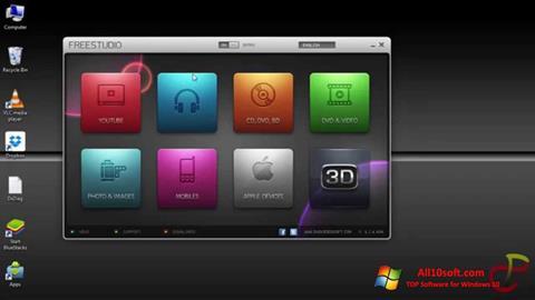 Képernyőkép Free Studio Windows 10