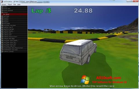 Képernyőkép 3D Rad Windows 10