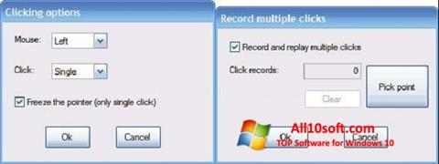 Képernyőkép GS Auto Clicker Windows 10