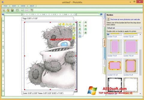Képernyőkép PhotoMix Collage Windows 10