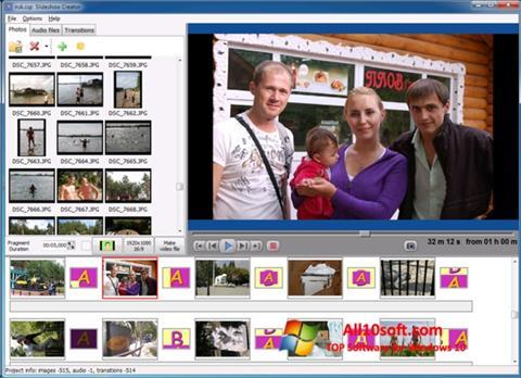 Képernyőkép Bolide Slideshow Creator Windows 10