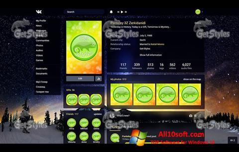 Képernyőkép Get Styles Windows 10