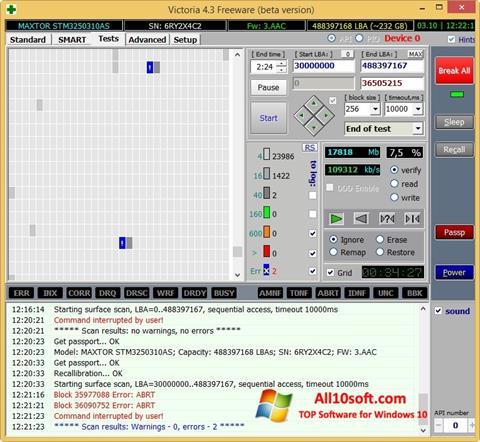 Képernyőkép Victoria Windows 10
