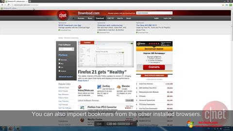 Képernyőkép Comodo Dragon Windows 10