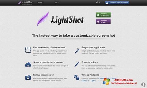 Képernyőkép LightShot Windows 10
