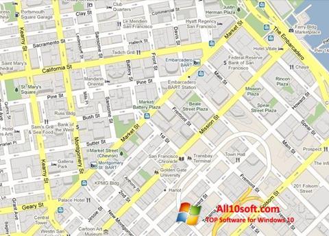 Képernyőkép Google Maps Windows 10