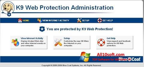 Képernyőkép K9 Web Protection Windows 10