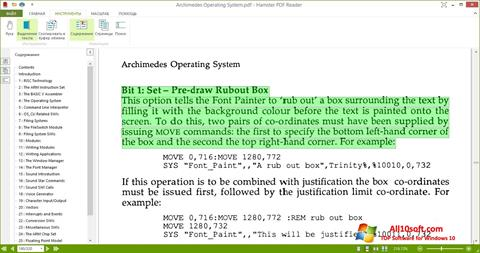 Képernyőkép Hamster PDF Reader Windows 10