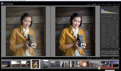 Képernyőkép Adobe Photoshop Lightroom Windows 10