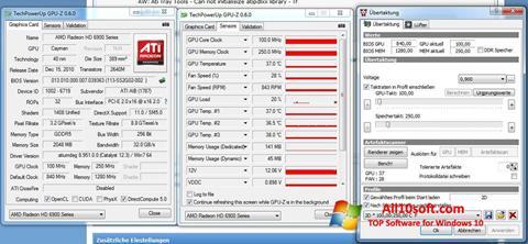 Képernyőkép ATI Tray Tools Windows 10