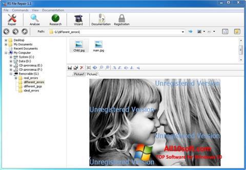 Képernyőkép File Repair Windows 10