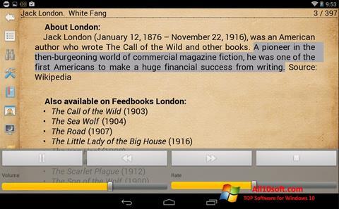 Képernyőkép Cool Reader Windows 10