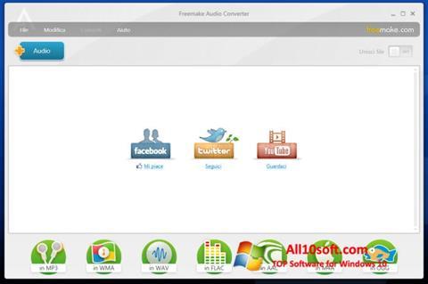 Képernyőkép Freemake Audio Converter Windows 10