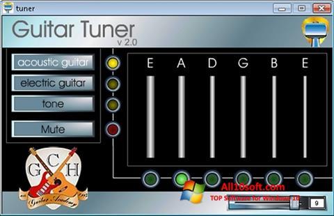 Képernyőkép Guitar Tuner Windows 10