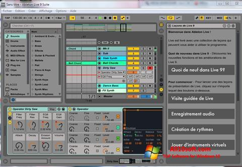 Képernyőkép Ableton Live Windows 10