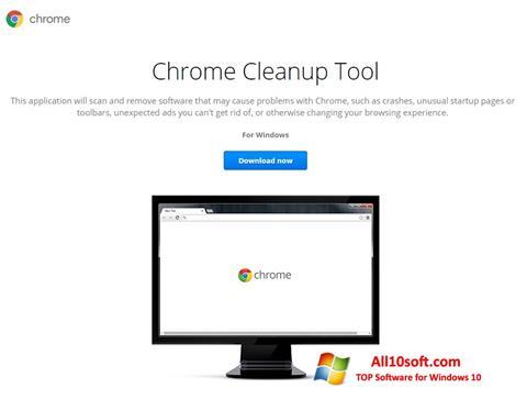 Képernyőkép Chrome Cleanup Tool Windows 10