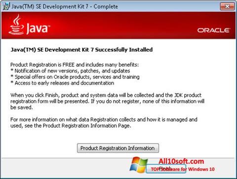 Képernyőkép Java Windows 10