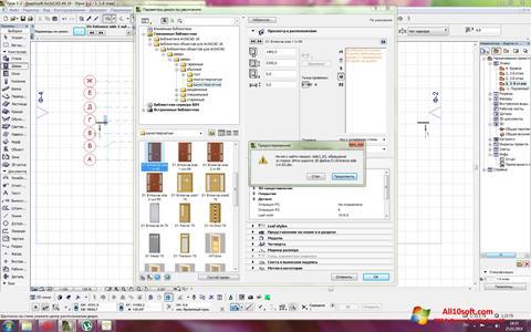 Képernyőkép ArchiCAD Windows 10