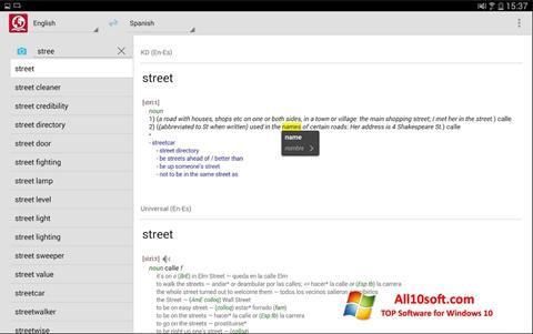 Képernyőkép ABBYY Lingvo Windows 10