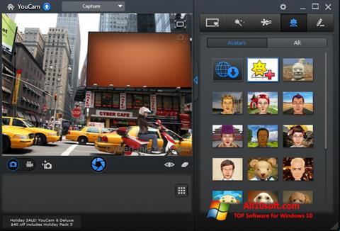 Képernyőkép CyberLink YouCam Windows 10