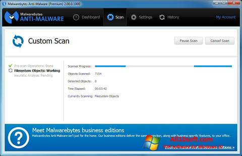 Képernyőkép Malwarebytes Anti-Malware Free Windows 10