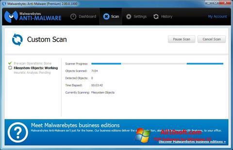 Képernyőkép Malwarebytes Anti-Malware Windows 10