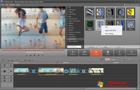 Képernyőkép Movavi Video Suite Windows 10