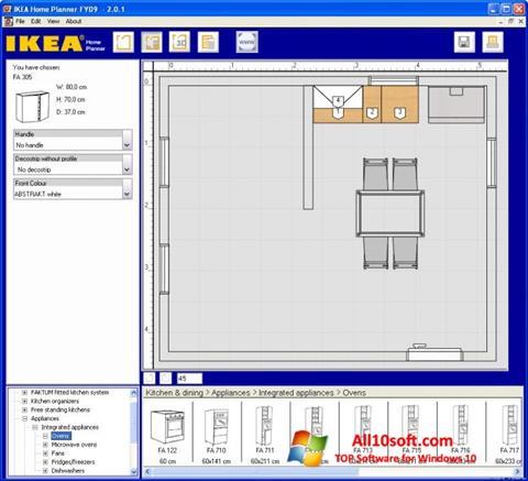 Képernyőkép IKEA Home Planner Windows 10