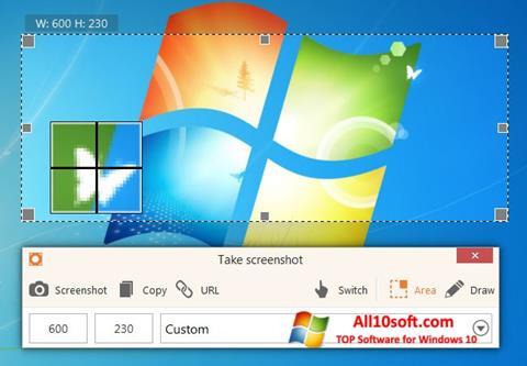 Képernyőkép ScreenShot Windows 10