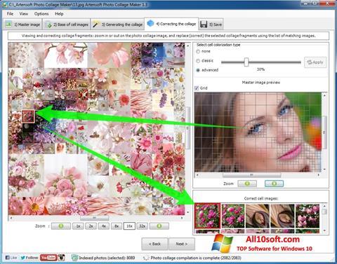 Képernyőkép Photo Collage Maker Windows 10